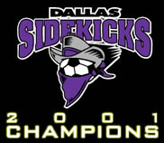 Dallas Sidekicks 2002-03 logo