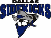 Dallas Sidekicks logo, 1994-current
