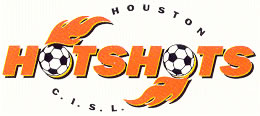 Houston Hotshots logo, 1993-94