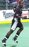 Larry Dube, 2002-03 game photo