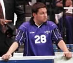 Mark Stein on bench during 1999 game